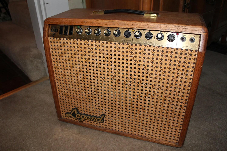Guitar Amp Legend Tube Amplifier Rare By Vintagetimeandlife