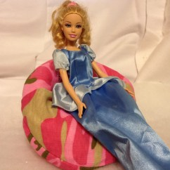 Barbie Bean Bag Chair Slipcover For Armless Unavailable Listing On Etsy