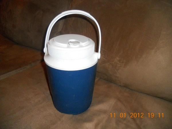 Vintage Gott 1 Gallon Water Jug Cooler Blue 1502