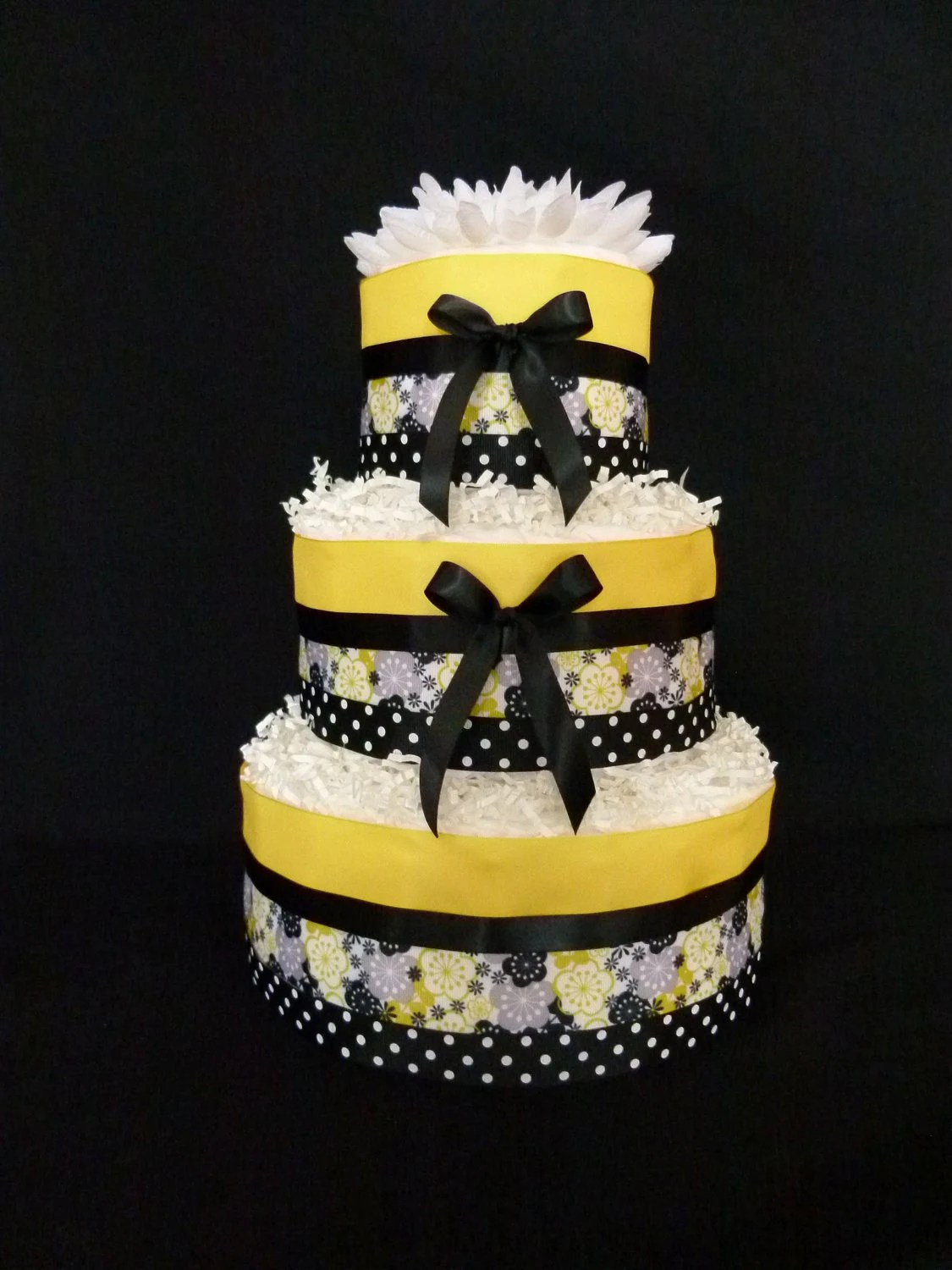 Items Similar To 3 Tier Yellow And Black Bumble Bee Baby
