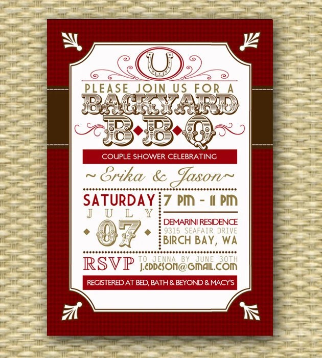 Country And Western Wedding Invitations