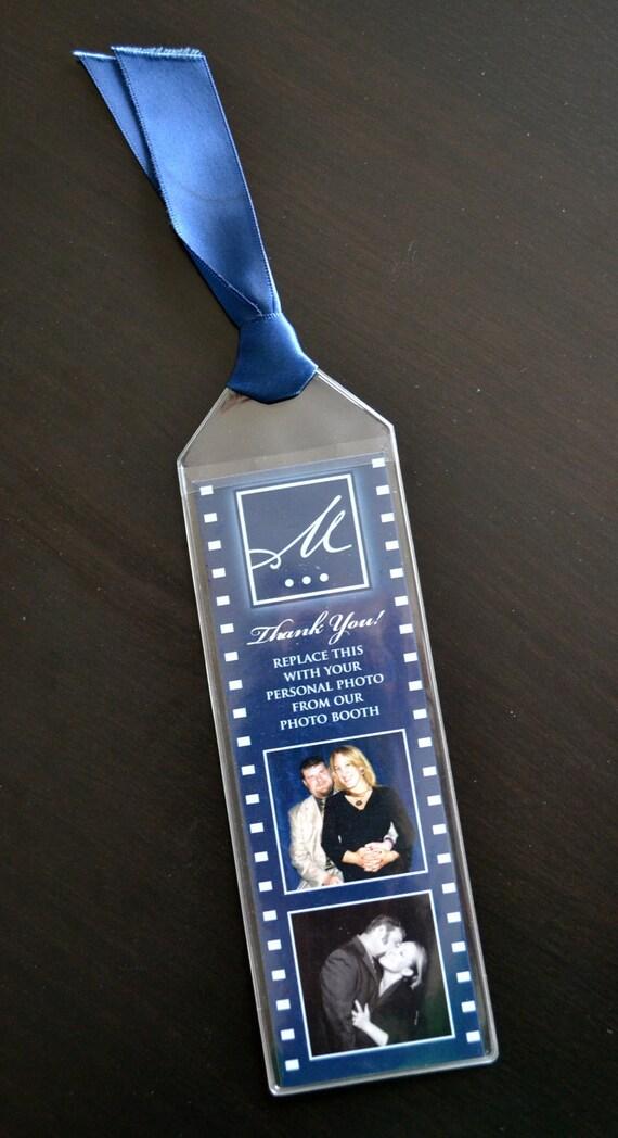 Items similar to PhotoStrip Bookmark Wedding Favors on Etsy