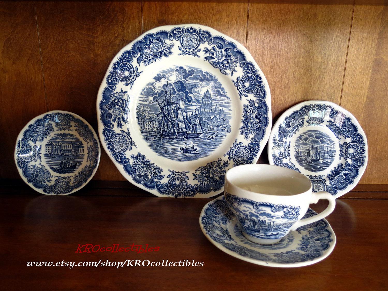 Vintage Melamine Dinnerware
