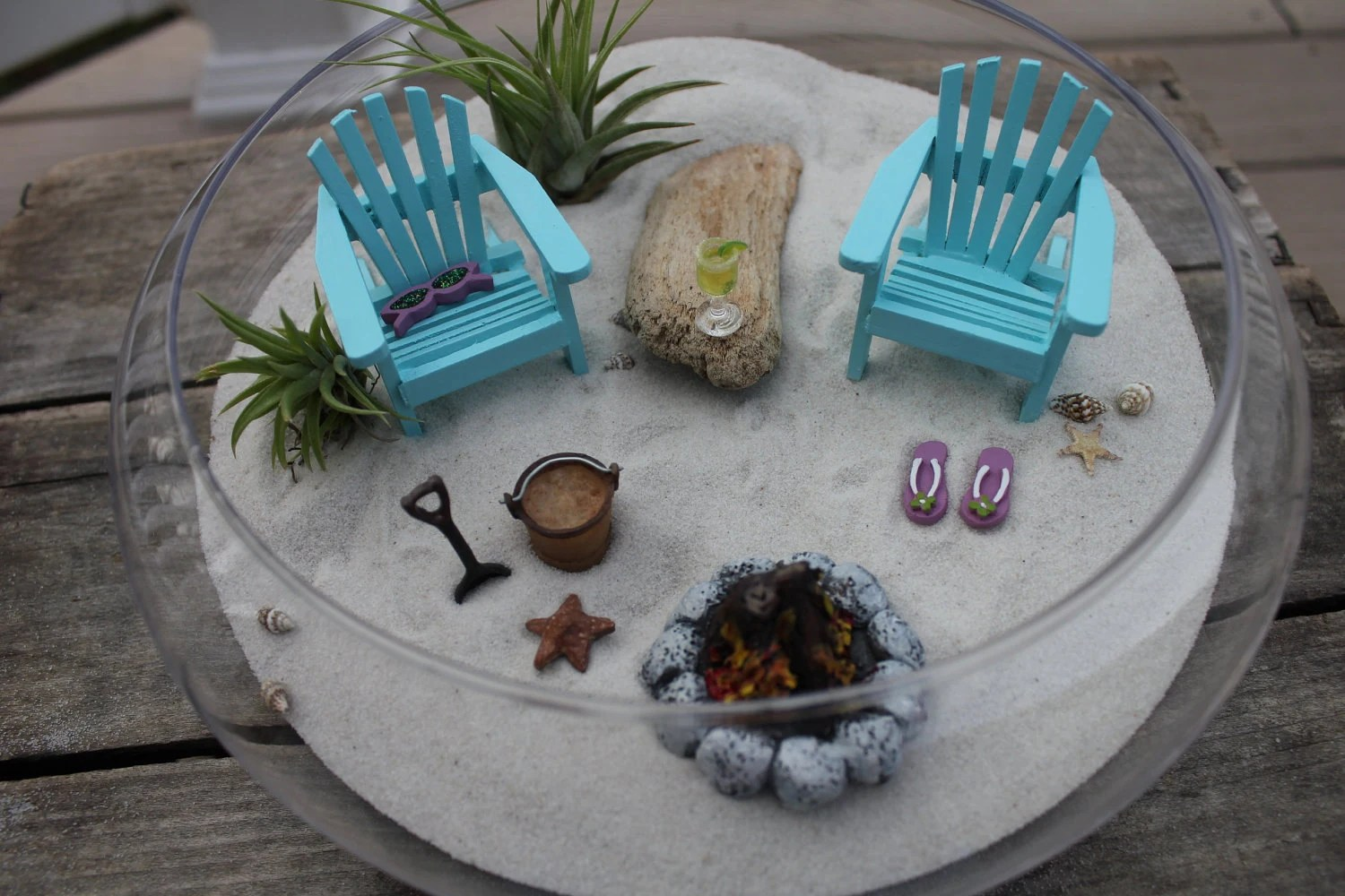 miniature adirondack chairs church for sale beach vacation with a campfire by landscapesnminiature