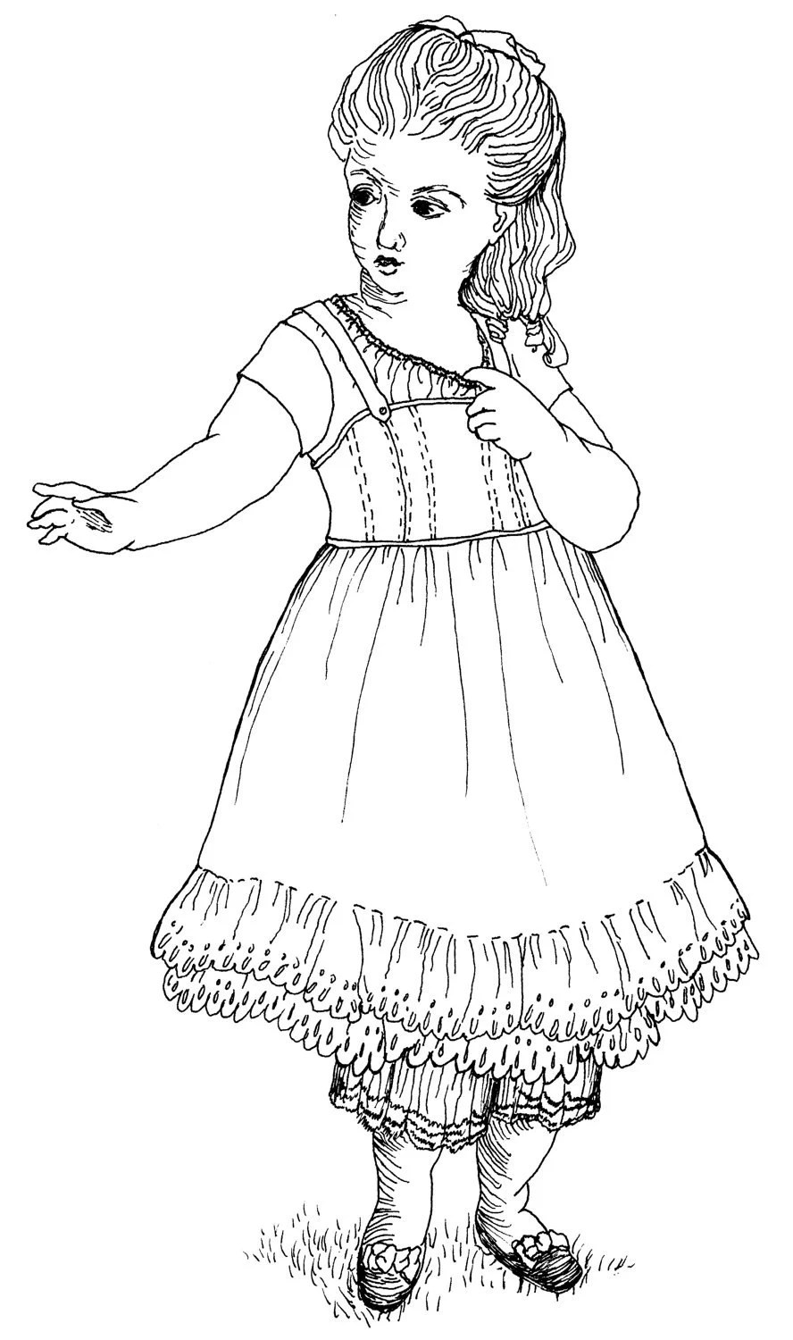American Girl Doll Clothing Pattern 1854 by digmongin on Etsy