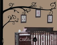 Photo Tree Wall Decal Frame Hanging Tree Wall Sticker
