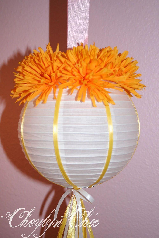flower paper lanterns