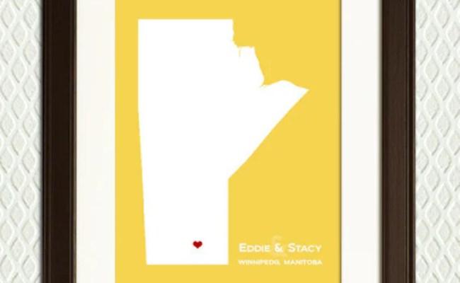 Winnipeg Manitoba Canada Personalized Gift By
