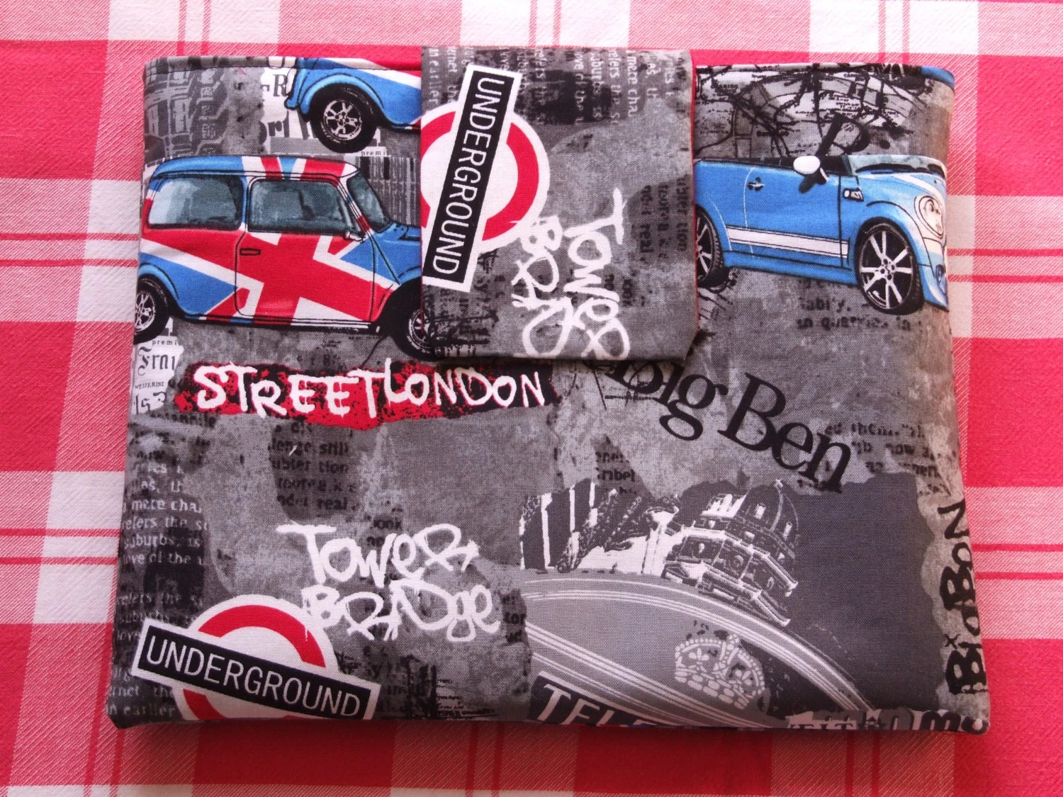 London Bridge iPad Case, Gents iPad Cover, Sleeve