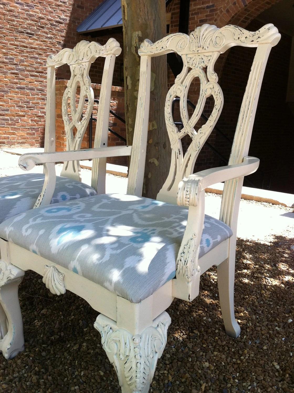 Velvet Blue Accent Chair