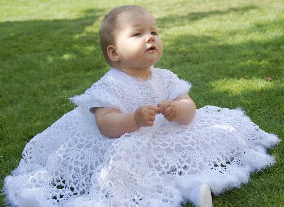 Christening Baby Dress. Blessing Girl Dress. Little Princess