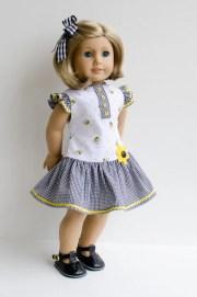 dress and hair ribbon kit ruthie