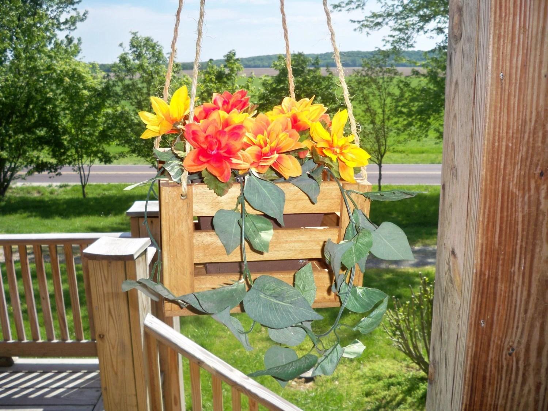 Indoor Hanging Flower Pots