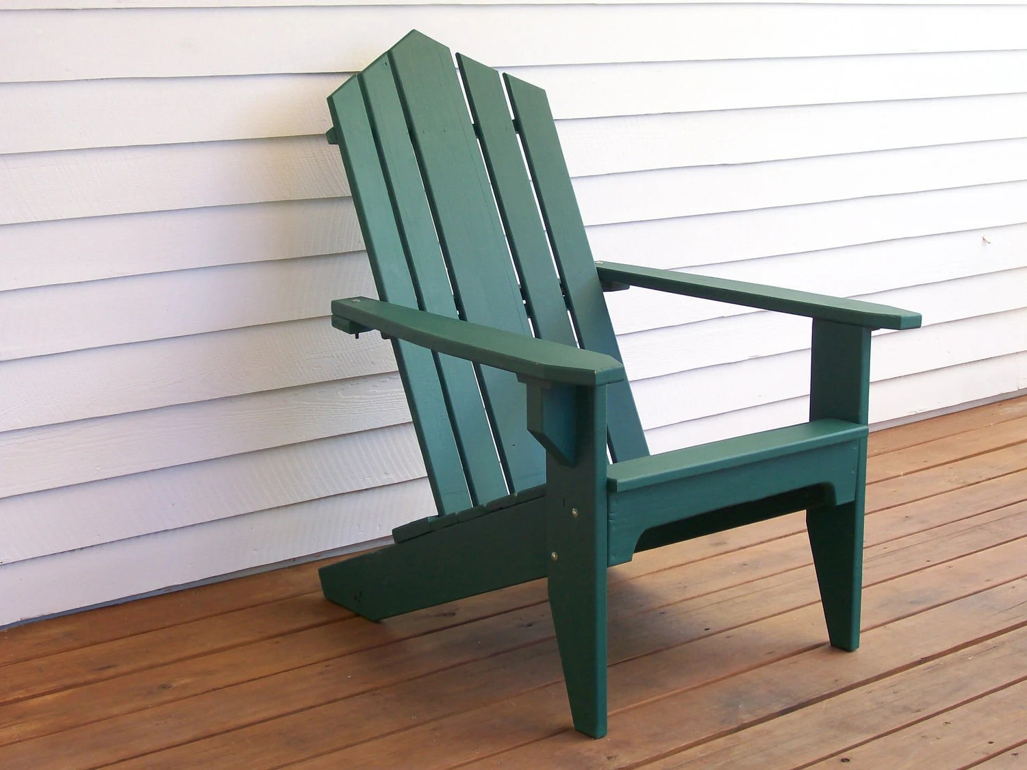 Wood Outdoor Chairs Adirondack Chair Wood Deck Chair Outdoor Wood Chair Wood