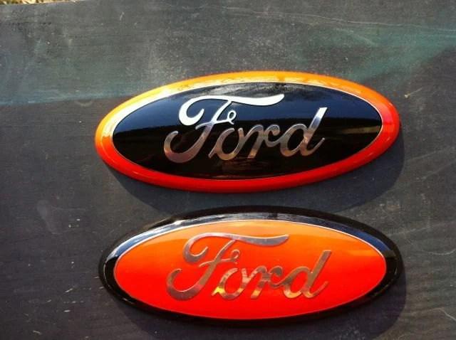 Ford Truck F 150 Emblem 9 Inch Harley Davidson Sticks By Saandman