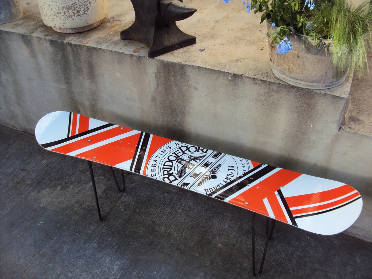 Snowboard Coffee Table : Brewery - IronAlterations