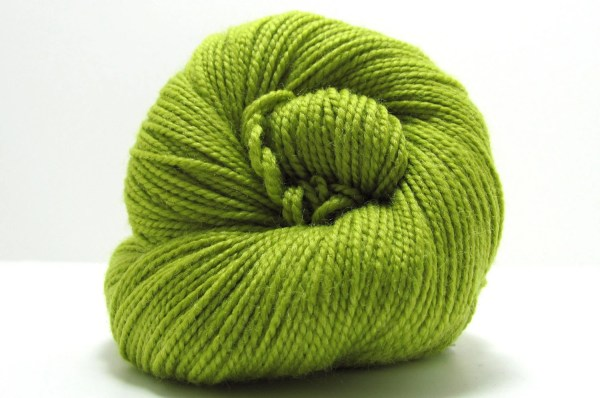 Staccato Sock Yarn In Green Apple Shibui Knits