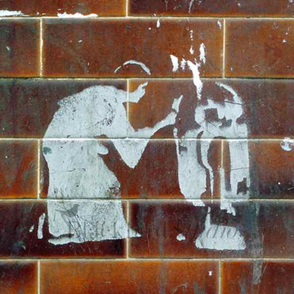 Star Wars Stencil Street Art London Fine
