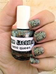 camo queen custom-blended glitter