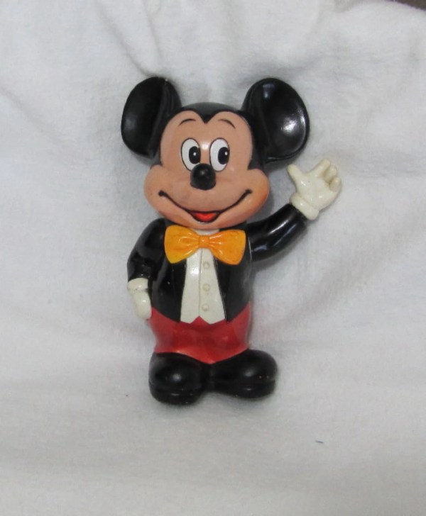 Vintage Mickey Mouse Bank Walt Disney Productions 1950s 60s