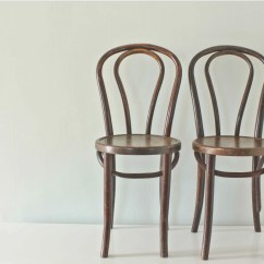 Bistro Style Dining Chairs Ethan Allen Chair Cushions Wood Thonet Bentwood By