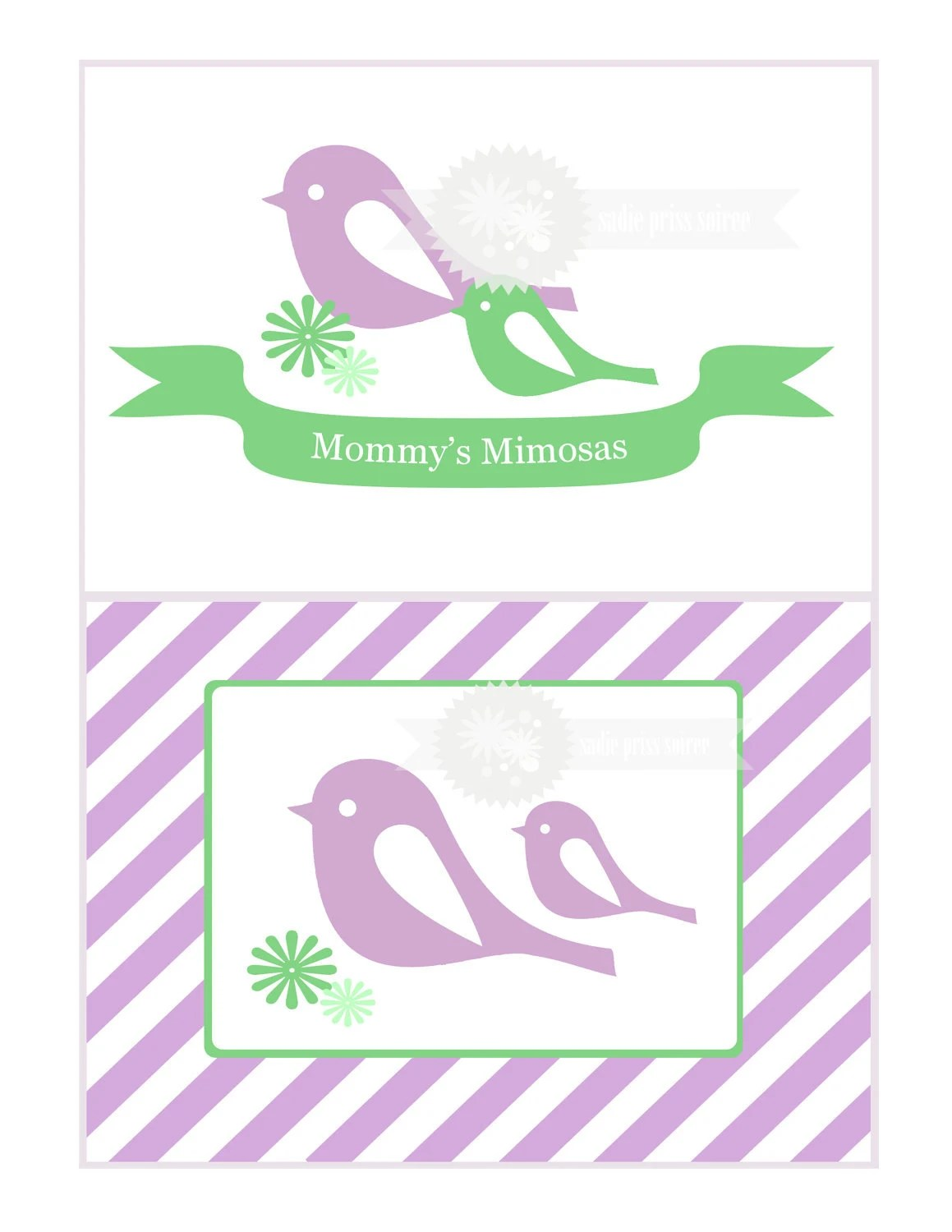 Little Bird Baby Shower Printables By Sa Prisssoiree On Etsy