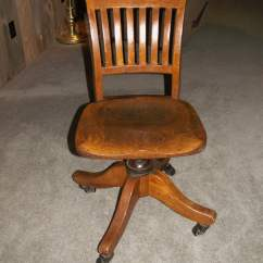 Office Chair Castors Red Leather Dining Room Chairs For Sale Vintage B. L. Marbles Oak