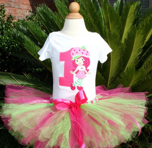 Items Similar Strawberry Shortcake Tutu 3pc Set