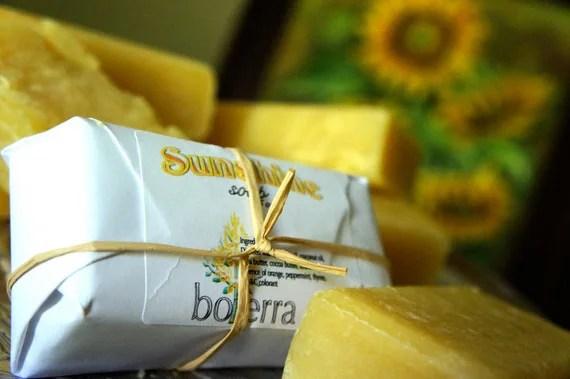 Sunshine shea butter soap BIG 5 oz bar - boterra