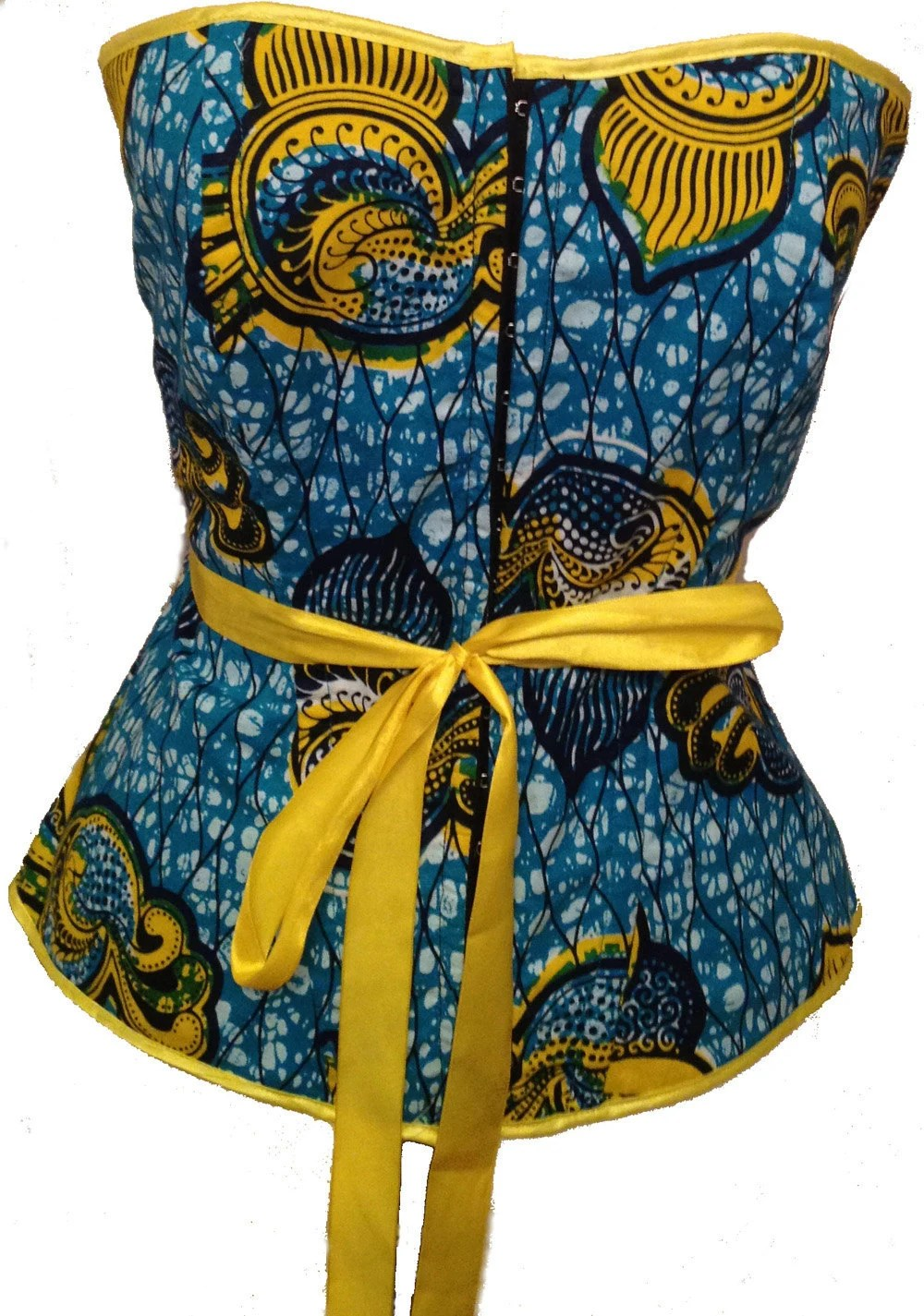 Yellow Dress Necklace