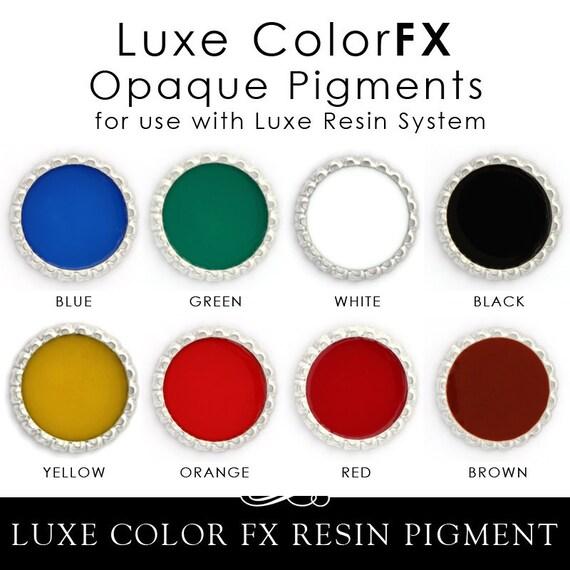 Epoxy Resin Pigment Luxe Color FX Gorgeous Opaque Color Dye