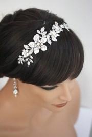 bridal headband wedding hair accessories