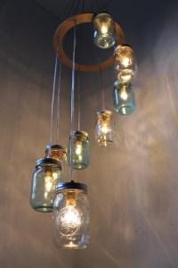 DIY Light Fixtures Mason Jar | DIY Craft Projects
