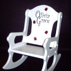 Personalized Rocking Chair For Toddlers Design Restaurant Toddler Ladybugs