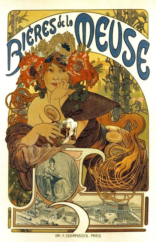 18x24 Vintage French Advertisements Poster Art nouveau