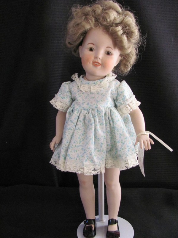 Collectible Vintage Porcelain Shirley Temple Doll