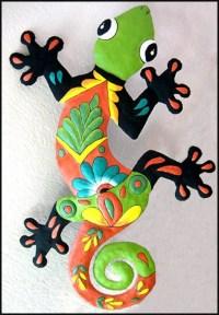 Metal Gecko Wall Hanging Gecko Outdoor Metal Art 24
