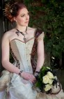 Steampunk Inspired Wedding Dress