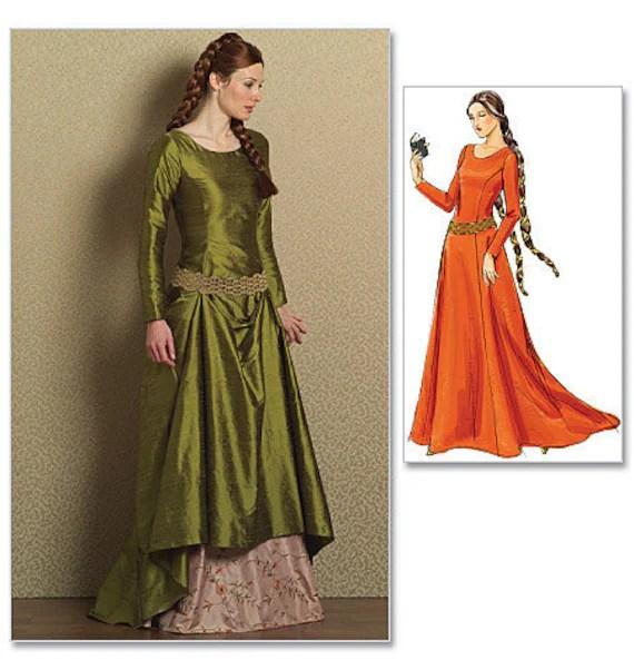 medieval irish clothing patterns