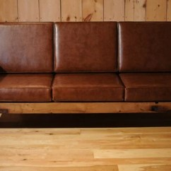 Brown Leather Sofa On Legs Most Expensive Sectional Sofas Items Similar To Wood Reclaimed Oak Couch ...