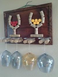 Items similar to Decorative Wine Glass Holder on Etsy