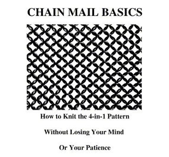 Chain Mail Basics e-Book How to Knit the 4-in-1 Pattern