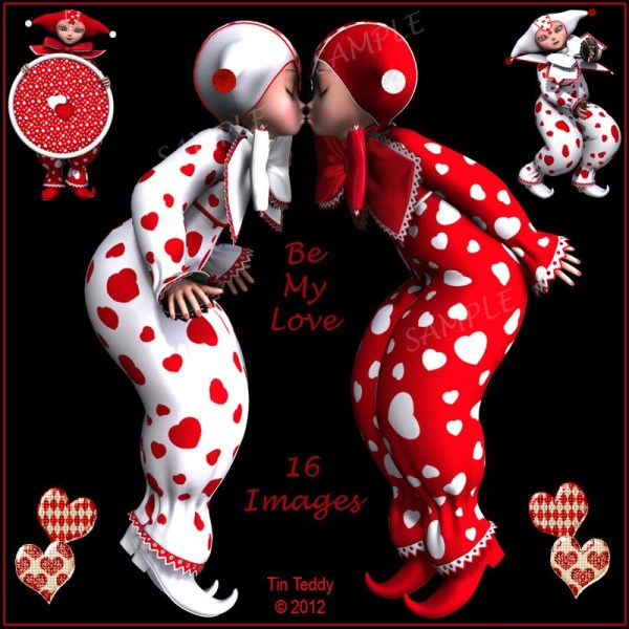 digital clip art love 15