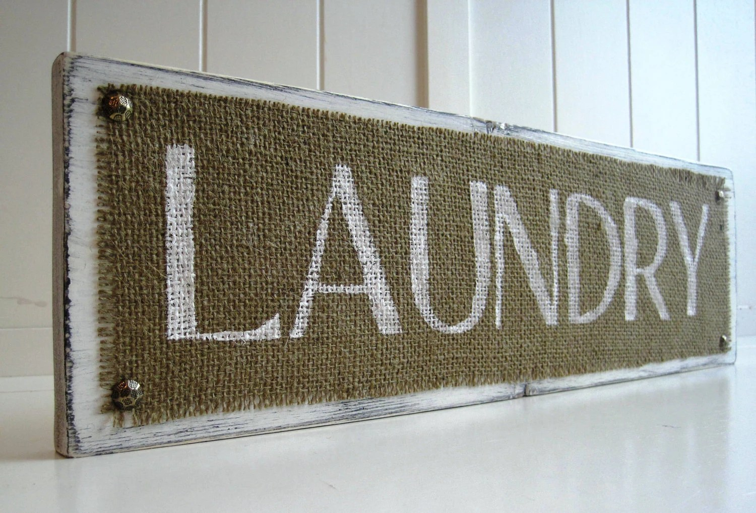 Laundry Room Wooden Signs