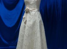 Vintage Inspired Wedding Dress with Lace by ...