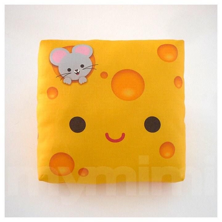 Decorative Pillow Cheese Pillow Breakfast Food Food Pillow