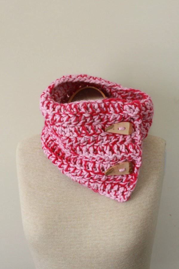 Breast Cancer Awareness Scarf Pink