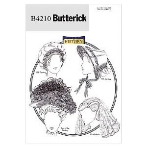 Historical Hat Pattern Butterick b4210