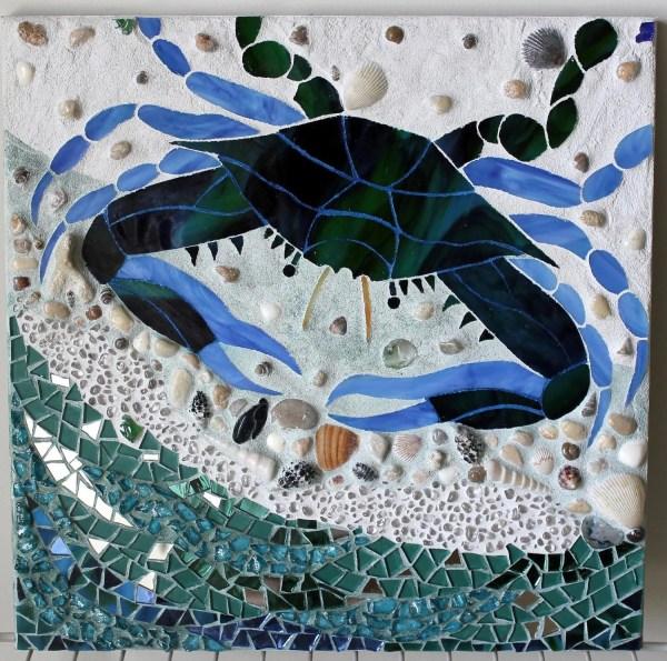 Maryland Blue Crab Mosaic
