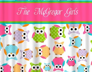Owl Shower Curtains